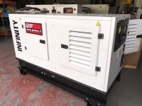 20KVA GENMAC INFINITY 1PHASE PERKINS ENGINE HARD WIRE ONLY