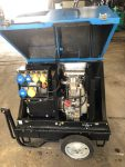 6KVA PRAMAC WITH YANMAR ENGINE 110/240V COMPLETE WITH SOCKETS ON WHEELS