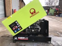 22KVA PRAMAC GBW22 WITH PERKINS ENGINE AND SOCKETS