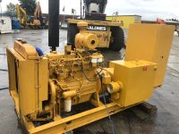 50KVA DAWSON KEITH SKID MOUNTED OPEN SET WITH PERKINS ENGINE