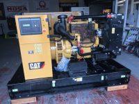 110KVA CATERPILLAR SKID MOUNTED OPEN SET WITH CAT C4.4 ENGINE
