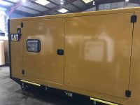 165KVA CATERPILLAR SILENT DIESEL GENERATOR WITH C7.1 ENGINE DE165E0