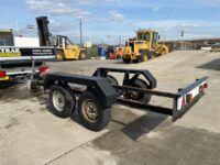 USED 3000 KGS TWIN AXLE TRAILER SUITABLE FOR GENERATOR
