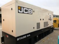 JCB 550KVA RENTAL STAGE 111A EMISSIONS COMPLIANT VOLVO ENGINE