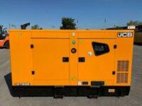 110 KVA JCB SILENT DIESEL GENERATOR MODEL: G115QS