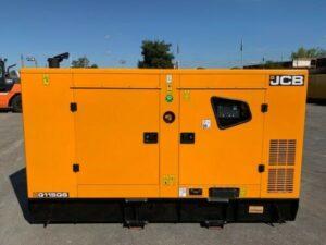 110 KVA JCB G115QS RENTAL SPEC STAGE IIIa EMISSIONS COMPLIANT