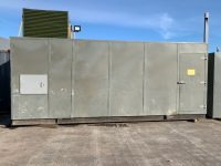 USED 22ft x 9ft Galvanised Steel Enclosure