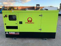 114 kva PRAMAC GSW110 SILENT DIESEL GENERATOR WITH PERKINS ENGINE