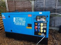 12kVA Stephill Multiphase with Kubota Engine Year 2016 Only 1543 Hours