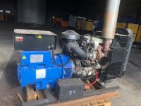 70 KVA PERKINS 4 CYLINDER TURBO OPEN SET WITH 240 HOURS
