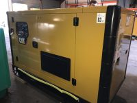 33 KVA CATERPILLAR SILENT DIESEL GENERATOR WITH C3.3 ENGINE