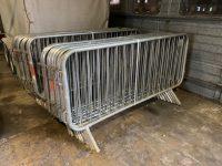 20 no. SMARTWELD Galvanised steel barriers