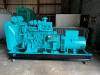200 KVA VOLVO 6 CYLINDER TURBO TD120AG WITH LOW HOURS