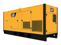 NEW 300KVA CATERPILLAR SILENT DIESEL GENERATOR WITH C9 ENGINE