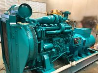187 KVA VOLVO 6 CYLINDER TURBO TD120AG WITH LOW HOURS