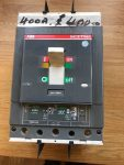 WAS £550 NOW £350 – UNUSED 400AMP CIRCUIT BREAKER 3 POLE