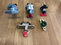 NEW BATTERY ISOLATOR SWITCHES – SELECTION IN STOCK