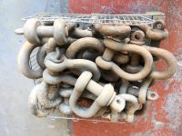LARGE PALLET OF BIG D SHACKLES FROM 10TON TO 37TON