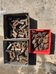 3 BOXES OF CONCRETE DRILLING ROSES – PRICE FOR THE LOT