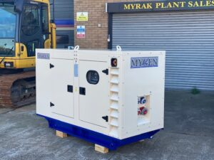 10KVA NEW YEAR 2020 MYGEN MY110PS PERKINS SILENCED SET WITH SOCKETS