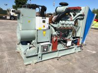 550KVA PUMA SKID MOUNTED OPEN GENERATOR WITH SCANIA ENGINE – ONLY 172 HOURS – LIKE NEW