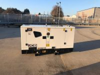 41KVA JCB SILENT DIESEL GENERATOR WITH STAGE 3A EMISSIONS COMPLIANT ENGINE & SOCKETS