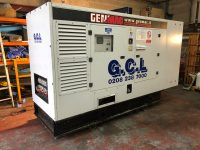 YEAR 2016 220KVA GENMAC ROYAL G200PS SILENT DIESEL GENERATOR WITH 5532 HOURS