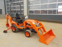 KUBOTA BX25DLB 4 x 4 Backhoe Loader (Low Hours / Choice of 2)