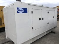165KVA FG WILSON SILENT DIESEL GENERATOR WITH PERKINS ENGINE HOURS : 2200