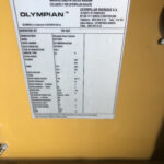16kva CAT Olympian GEP165P4 6