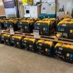 2.75kVA Atlas Copco Petrol Generator 110/240V