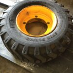 JCB Wheel and Tyre