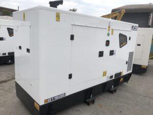 110 KVA JCB SILENT DIESEL GENERATOR MODEL G115QS 3