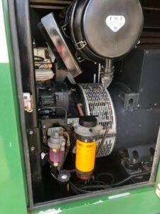 220KVA JCB G221QS RENTAL SPEC SILENT DIESEL GENERATOR