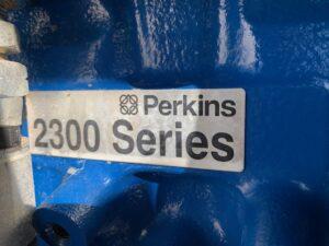 440KVA FG WILSON P400P2 SILENT DIESEL GENERATOR WITH PERKINS ENGINE 2007