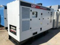 220KVA GENMAC G200IS ROYAL SILENT DIESEL GENERATOR WITH IVECO ENGINE YEAR:2016