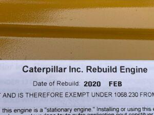Caterpillar C32 1100kVA