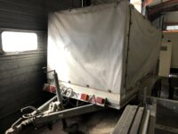 BOCKMANN 2700KGS TWIN AXEL CURTAINSIDER TRAILER