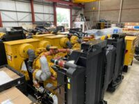 NEW YEAR 2020 1100KVA CATERPILLAR C32 SKID MOUNTED OPEN SET (choice)