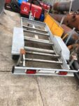USED ALKO 2 AXLE TRAILER HEAVY DUTY