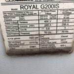 220KVA GENMAC G200IS ROYAL SILENT DIESEL GENERATOR WITH IVECO ENGINE