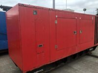 220KVA CATERPILLAR OLYMPIAN SILENT DIESEL GENERATOR WITH 5624 HOURS