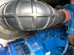 550KVA FG WILSON SUPER SILENT DIESEL GENERATOR WITH PERKINS ENGINE