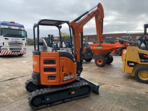 NEW HITACHI ZX26U-6