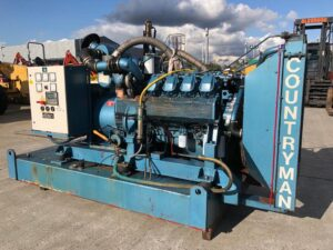 345KVA COUNTRYMAN SKID MOUNTED OPEN SET WITH IVECO ENGINE