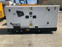 27KVA JCB SILENT DIESEL GENERATOR WITH STAGE 3A EMISSIONS ENGINE
