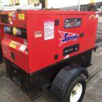15KVA GENSET SILENT DIESEL GENERATOR WITH KUBOTA ENGINE ON FAST TOW TRAILER