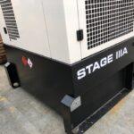 550KVA JCB RENTAL SPEC SILENT DIESEL GENERATOR WITH STAGE IIIA EMISSIONS COMPLIANT ENGINE