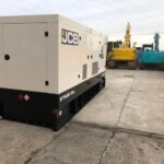 550KVA JCB RENTAL SPEC SILENT DIESEL GENERATOR WITH STAGE IIIA EMISSIONS COMPLIANT ENGINE