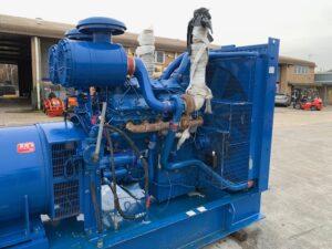 760kVA FG Wilson skid mounted open set